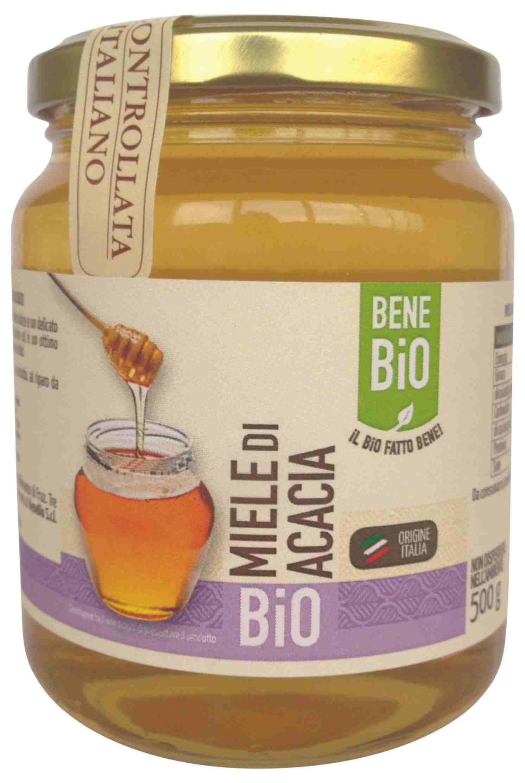 Miel orgánica de Acacia